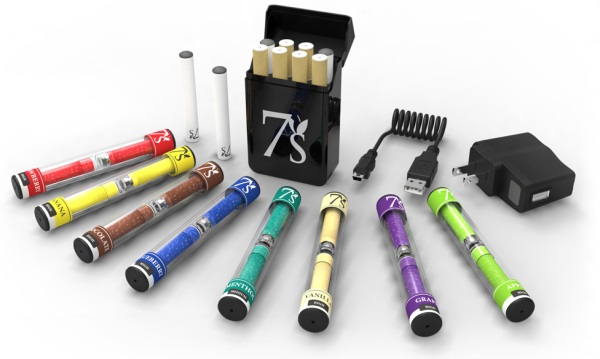 What types of e cigarettes are there