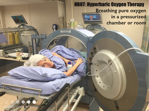Hyperbaric oxygen therapy promotes healing six step for Table 6 hyperbaric treatment